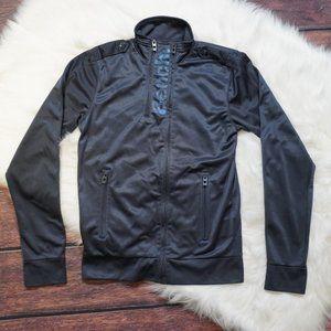 Bench Gray Zip Up Sweater